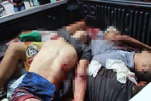 Oito suspeitos de assaltos morrem em troca de tiros com policiais em Delmiro Gouveia