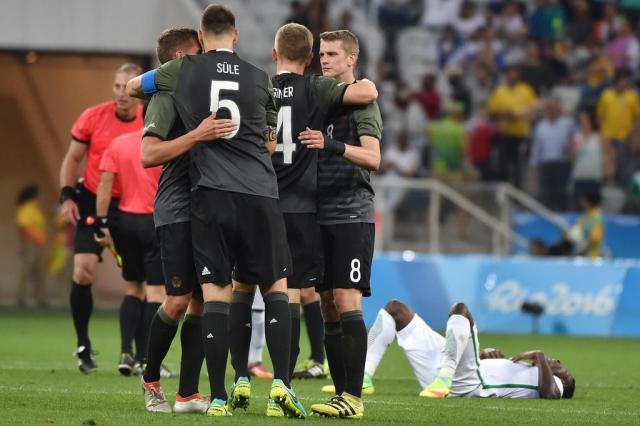 f75f0f42dbecc Alemanha vence Nigéria e enfrenta Brasil na decisão do futebol masculino na  Olimpíada